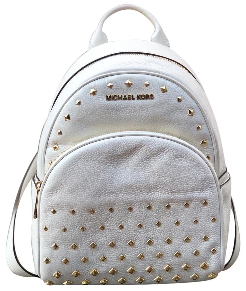 dbae679ebada MICHAEL KORS ABBEY MEDIUM STUDDED BACKPACK LEATHER | Kalsona