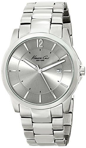 b1cbed4b50c Kenneth Cole New York Men s KC3915 Iconic Stainless Steel Watch ...